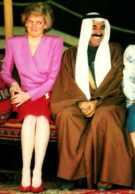 Diana & Charles - Tour Of Gulf - Mars 1989 , le 14 Mars 1989 _ Suite
