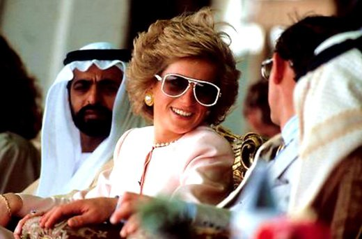 Diana & Charles - Tour Of Gulf - Mars 1989 , le 15 & 16 Mars 1989