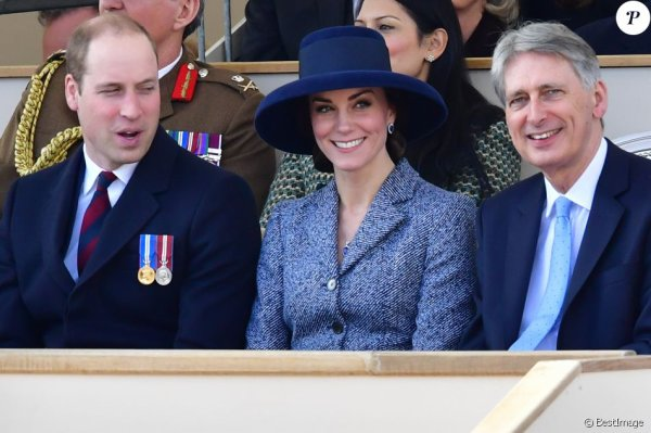 William & Catherine et Harry - Iraq and Afghanistan Victoria Embankment Gardens , le 09 Mars 2017 _ Suite
