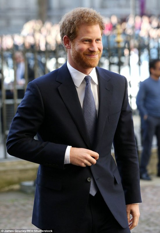 Prince Harry - the Commonwealth Day Service and Reception 2017 , le 13 Mars 2017