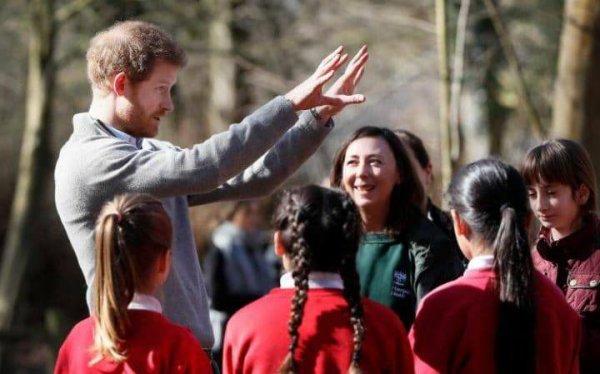 Prince Harry -  the QCC Project , le 15 mars 2017 _ Suite