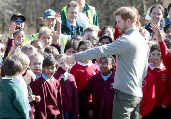 Prince Harry -  the QCC Project , le 15 mars 2017 _ Suite