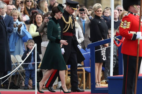 William & Catherine - Irish Guards' St Patrick's Day Parade , le 17 Mars 2017