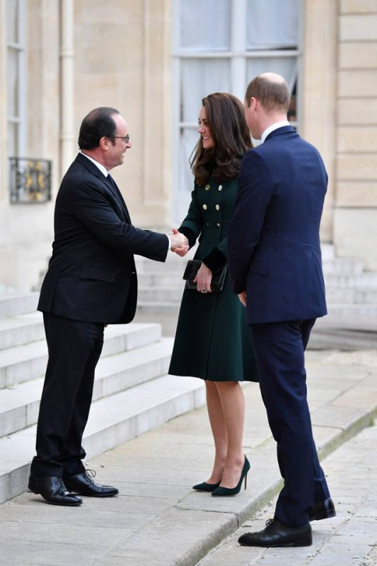 William & Catherine - Trip  Paris  Day 1 , le 17 Mars 2017