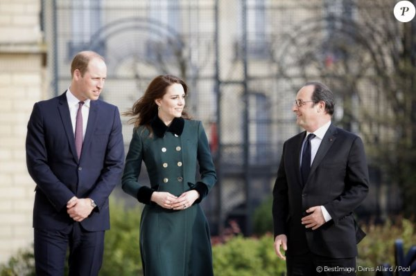 William & Catherine - Trip  Paris  Day 1 , le 17 Mars 2017 _ Suite