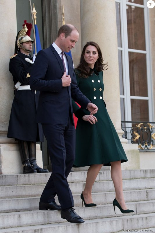 William & Catherine - Trip  Paris  Day 1 , le 17 Mars 2017 _ Suite