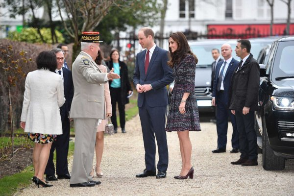 William & Catherine - Trip Paris Day 2 , le 18 Mars 2017