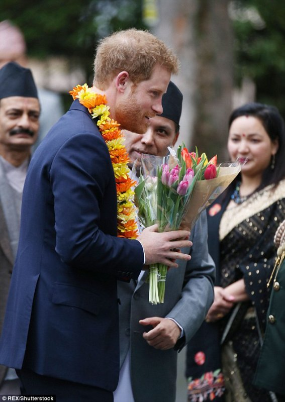 Prince Harry - Celebrate The Bicentenary Of Relation The UK and Nepal