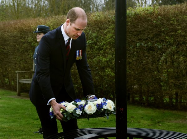 Prince William -  Le 29 Mars 2017