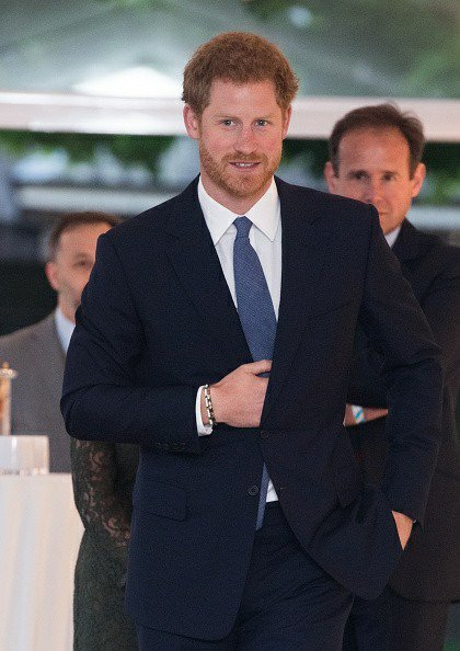 Prince Harry - The Landmine Free World 2025 Reception , le 04 Avril 2017