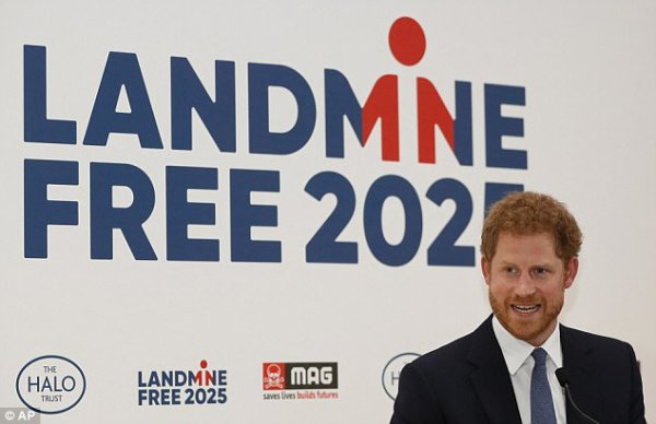 Prince Harry - The Landmine Free World 2025 Reception , le 04 Avril 2017 _ Suite