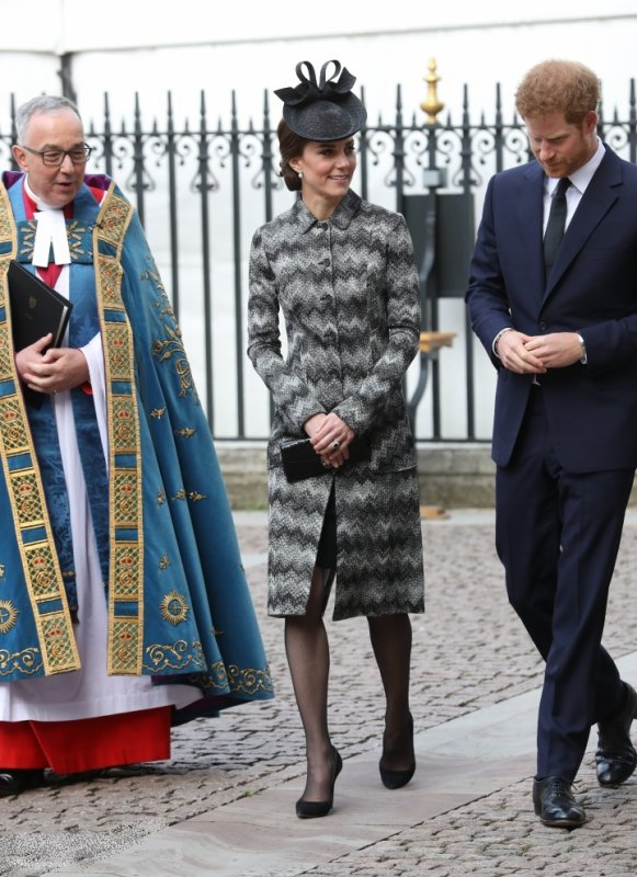 William & Catherine et Harry - Service Of Hope Westminster Abbey , le 05 Avril 2017 _ Suite