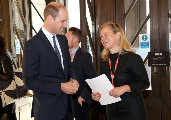 Prince William - Screening Of BBC's 'Mind Over Marathon' , le 18 Avril 2017