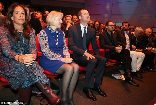 Prince William - Screening Of BBC's 'Mind Over Marathon' , le 18 Avril 2017 _ Suite