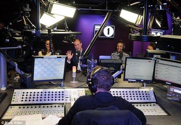 William & Catherine - BBC Radio 1 Appearance , le 21 Avril 2017