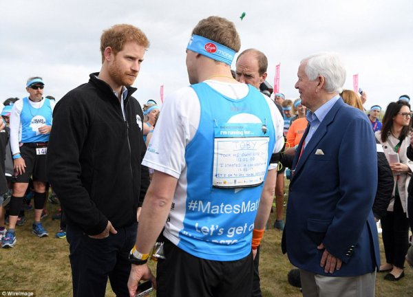 William & Catherine et Harry - Virgin Money London Marathon , le 23 Avril 2017