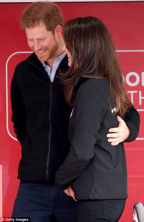 William & Catherine et Harry - Virgin Money London Marathon , le 23 Avril 2017 _ Suite