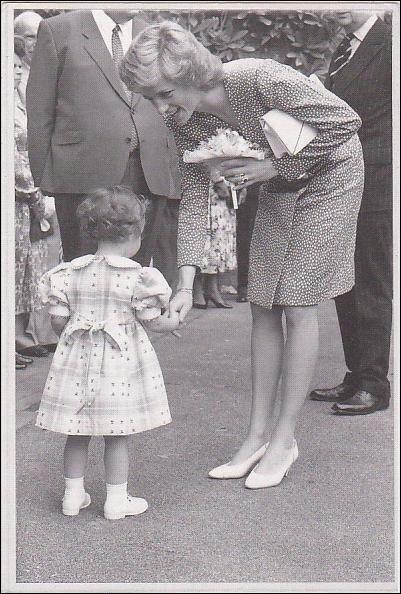 Princess Diana - Opened the Barley Wood ,le 23 Mai 1989