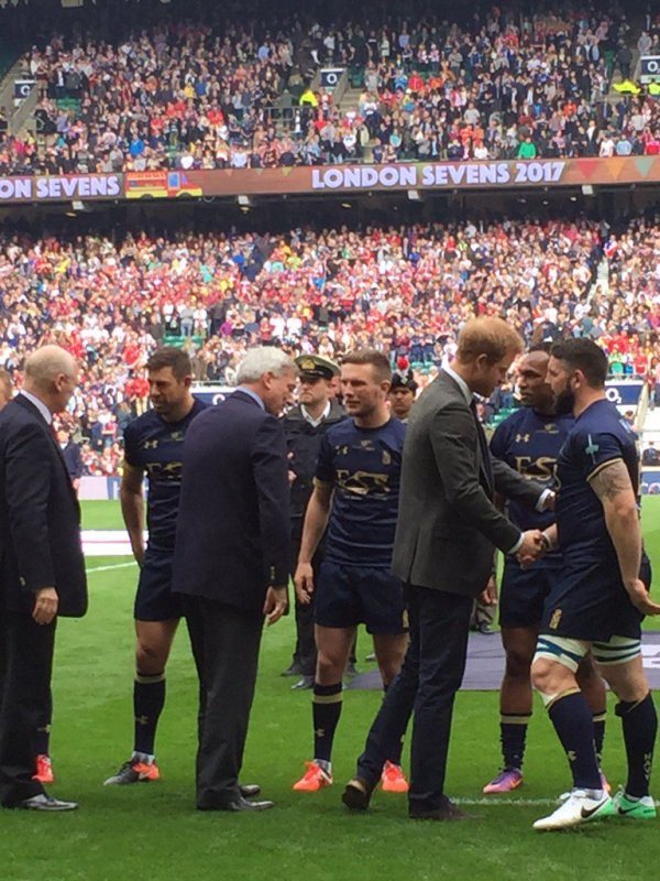 Prince Harry - 100th Annual British Army Versus Navy Rugby Match , le 29 Avril 2017