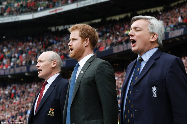 Prince Harry - 100th Annual British Army Versus Navy Rugby Match , le 29 Avril 2017 _ Suite