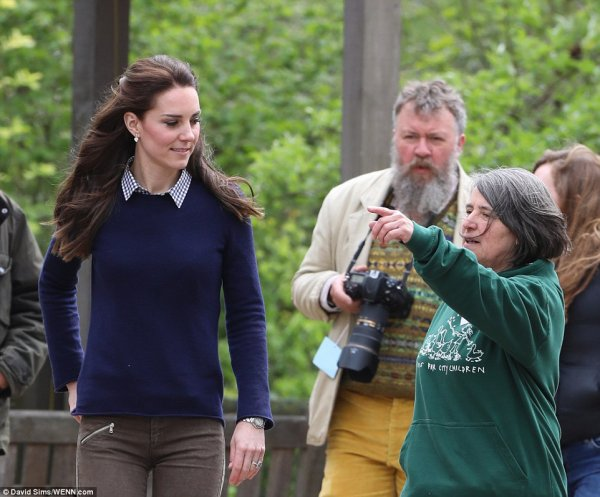 Duchess Catherine - Farms for City Children, le 03 mai  2017