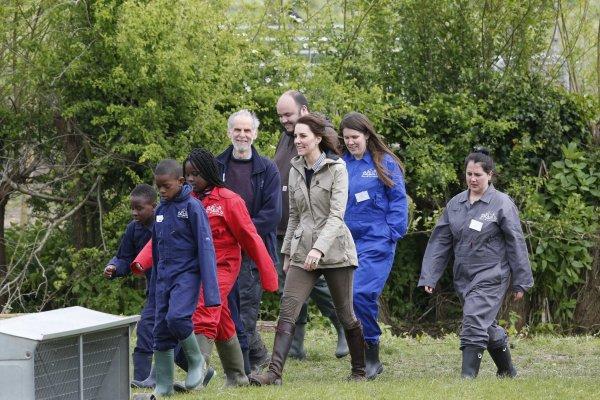Duchess Catherine - Farms for City Children, le 03 mai  2017 _ Suite