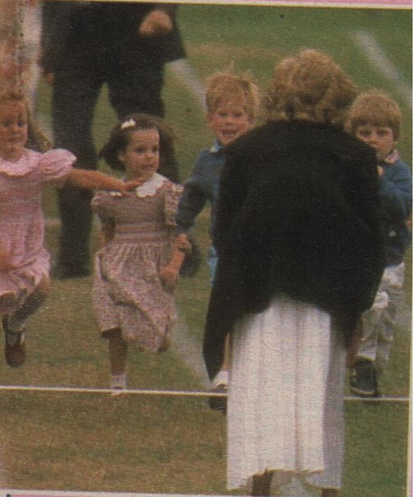 Le 28 Juin 1989 , Wetherby School Sports Day