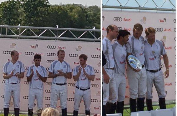William et Harry - the Audi Polo Challenge , le 07 Mai 2017 _ Suite