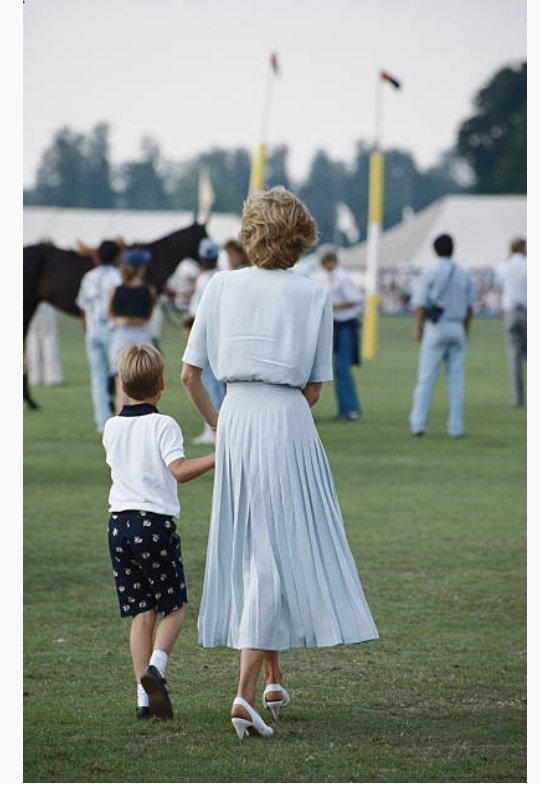 Au Cartier International Polo Day  Smiths Lawn Polo Club , le 23 juillet 1989
