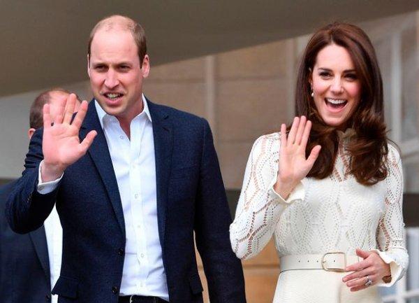 William & Catherine et Harry - Buckingham Palace Tea Party , le 13 Mai 2017