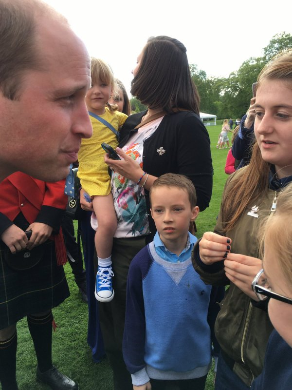 William & Catherine et Harry - Buckingham Palace Tea Party , le 13 Mai 2017 _ Suite