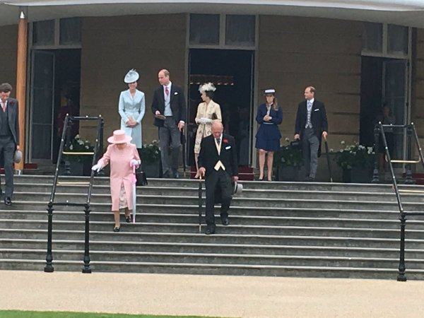 William & Catherine - Garden Party  Buckingham Palace, le 16 Mai 2017