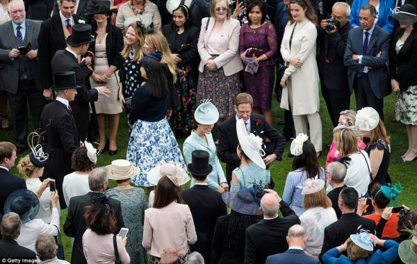 William & Catherine - Garden Party  Buckingham Palace, le 16 Mai 2017 _ Suite