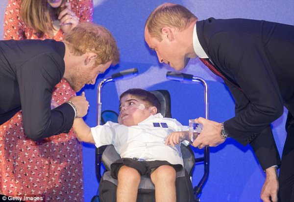 Prince William et Prince Harry - Diana Awards , le 18 Mai 2017 _ Suite