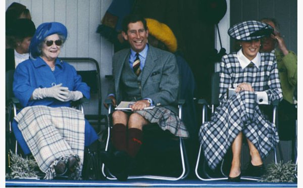Diana, Princess of Wales - the annual Braemar Highland Games , le 03 September 1989 _ Suite