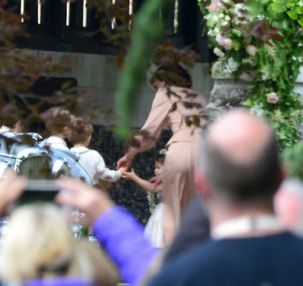 Le 20 mai 2017 - Pippa Middleton's Wedding _ Suite