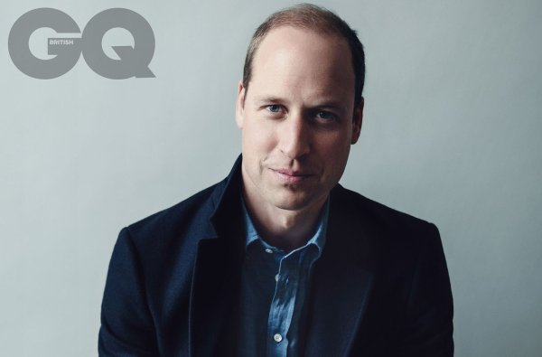 Prince William - The Cover of the New Edition of British GQ 2017.