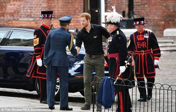 Prince Harry - le 30 Mai 2017