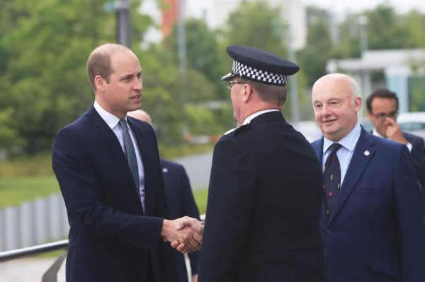 Prince William - Manchester , le 02 Juin 2017