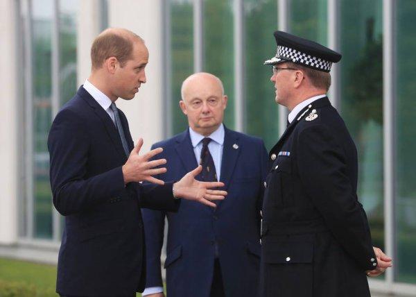 Prince William - Manchester , le 02 Juin 2017