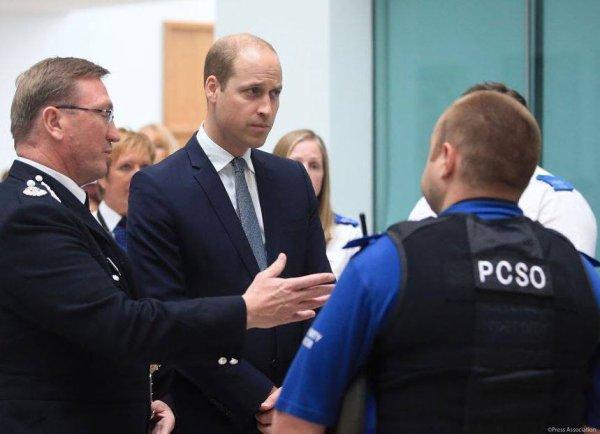 Prince William - Manchester , le 02 Juin 2017  _ Suite