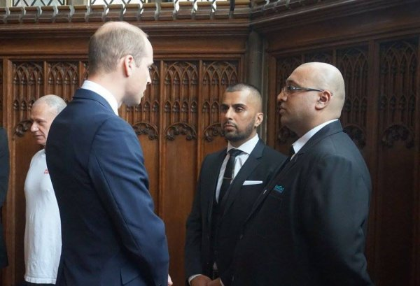 Prince William - Manchester , le 02 Juin 2017  _ Suite