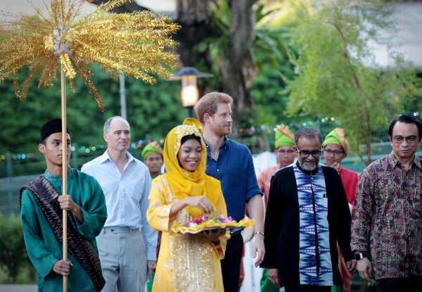 Prince Harry - Day 1 Singapore 2017 , le 04 juin 2017