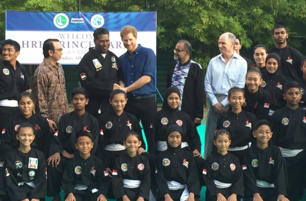 Prince Harry - Day 1  Singapore 2017 , le 04 juin 2017 _ Suite
