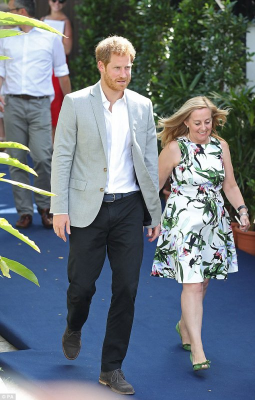 Prince Harry - Day 2 Singapore 2017 , le 05 juin 2017