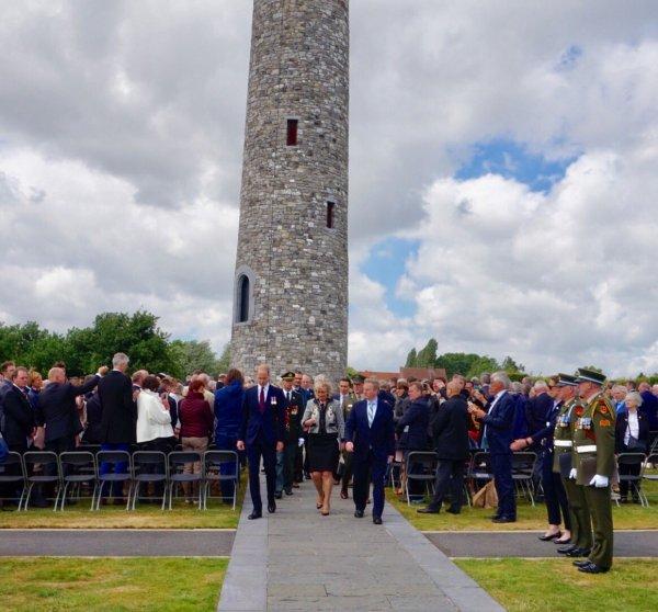 Prince William - Battle of Messines Ridge Commemorations Belgium , le 07 juin  2017 _ Suite