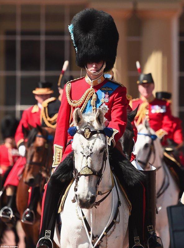 Prince William - Colonel's Review, le 10 Juin  2017