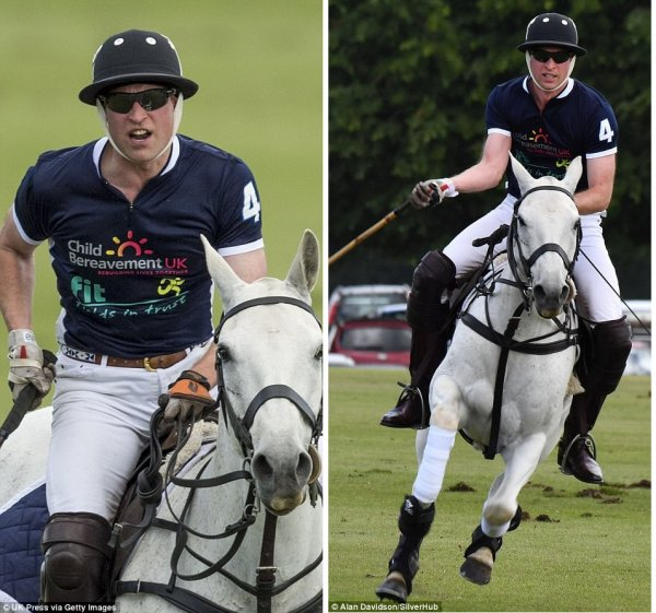 Prince William - The Maserati Royal Charity Polo Trophy , le 11 Juin 2017
