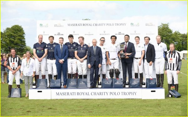 Prince William - The Maserati Royal Charity Polo Trophy , le 11 Juin 2017 _ Suite