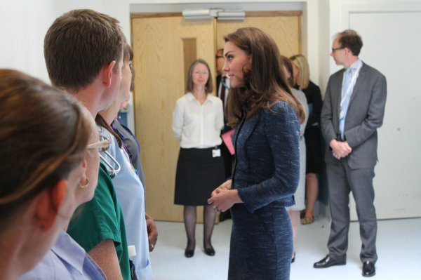 Duchess Catherine - Kings College Hospital , le 12 Juin 2017